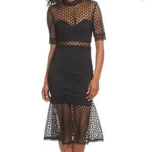 Bardot Fiaona Mesh Dress
